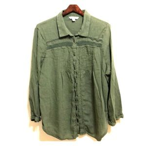 American Eagle Outfitters | Long Sleeve Blouse  XL